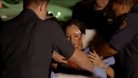 Ex de Pablo Montero involucrada en agresión a periodista de televisión