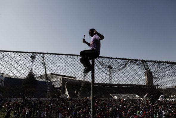Las sentencias se produjeron después de un día de enfrentamientos en El...