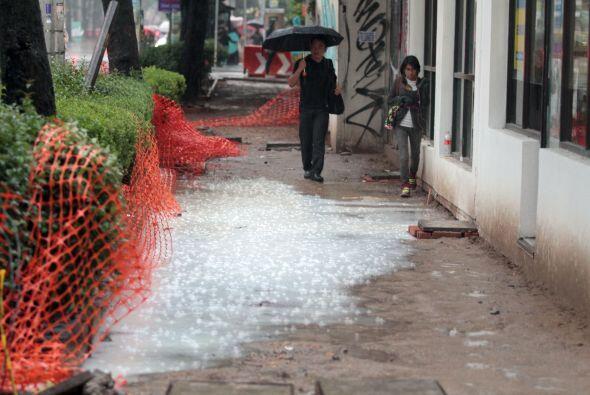 Según la Comisión Nacional del  Agua (Conagua), estos fenómenos metereol...