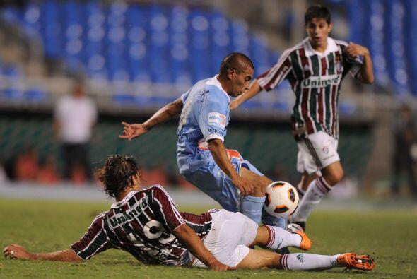 Unos 17 mil espectadores se dieron cita en el estadio Joao Havelange de...