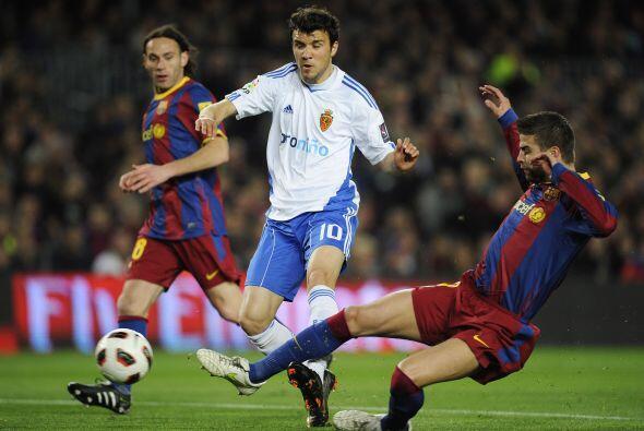 Otro argentino, Nico Bertolo, tuvo una chance clara de poner en ventaja...