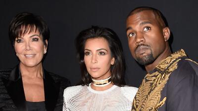 Kanye West llama 'mamá' a Kris Jenner