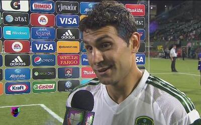 Diego Valeri: 'Estabamos más frescos que ellos'