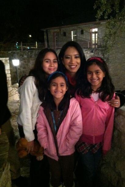 Melissa López nos mandó esta bonita foto de su familia con...