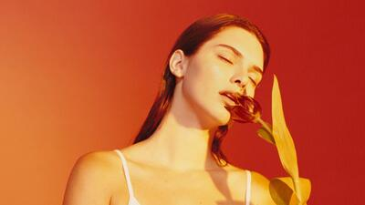 La modelo Kendall Jenner en la nueva campaña de la marca de ropa interior.