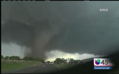 Un nuevo tornado tocó tierra en Oklahoma