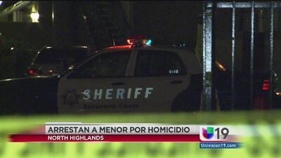Arrestan a menor de edad por homicidio