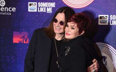 GLASGOW, SCOTLAND - NOVEMBER 09: Ozzy Osbourne and Sharon Osbourne atten...