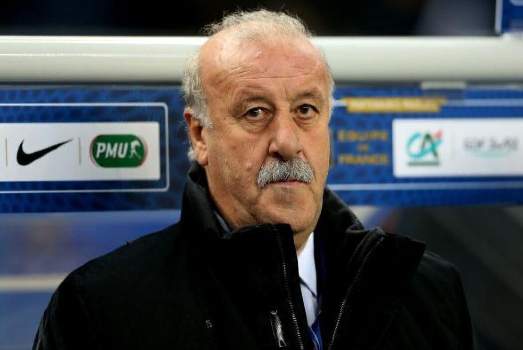 Vicente del Bosque: Siguiendo con entrenadores españoles, el 'Bigotón' h...