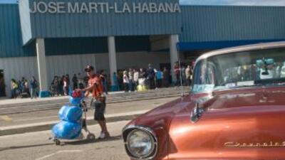 Aeropuerto José Martí en La Habana