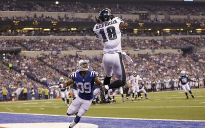Eagles - Colts: Sam Bradford conectó par de pases de touchdown