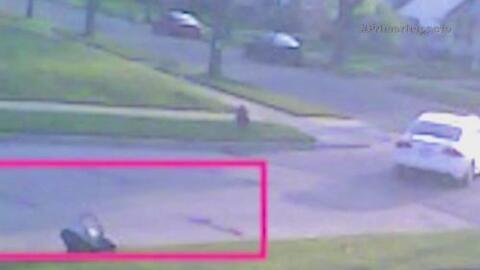 Ladrones roban vehículo a mamá con bebé a bordo
