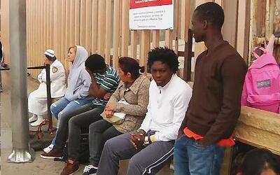 Más de 600 migrantes piden asilo político