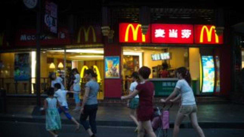 Las ventas totales de McDonald's disminuyeron en 2.5% en julio.