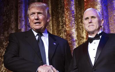Donald Trump asiste a cena de gala con diplomáticos extranjeros