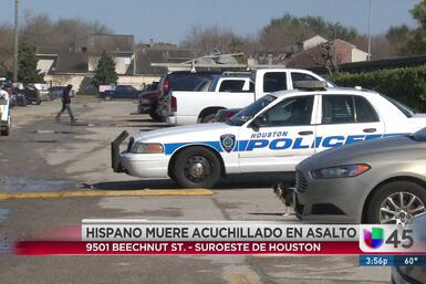 Asaltan y asesinan a puñaladas a hispano en el suroeste de Houston