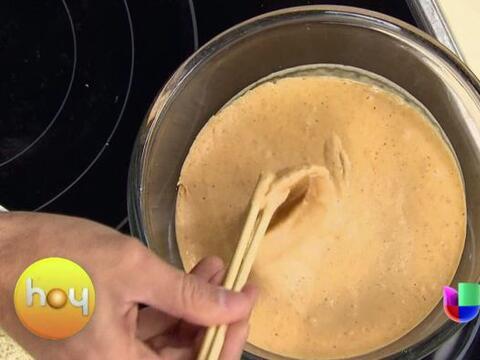 La primera es una receta con mariscos, unos ricos aros de cebolla y cala...