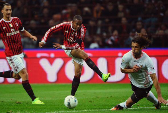 El segundo lo anotó el brasileño Robinho.
