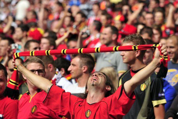 AFICIONADOS BELGAS- Hartos de que la selección belga no clasifique desde...