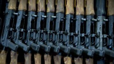 Fusiles de asalto AK-47