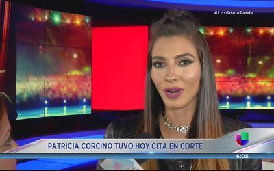 Patricia Corcino tuvo su día en corte por la custodia de su hijo