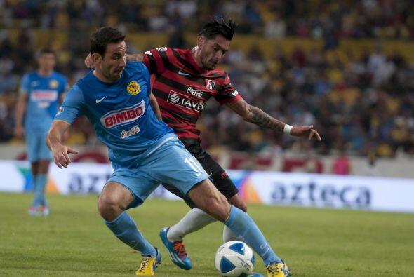 Luis Gabriel Rey.- El 'Canguro' anotó los dos goles de un Am&eacu...