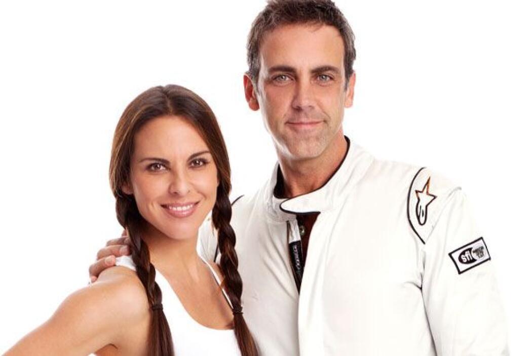 """Kate del Castillo y Carlos Ponce han compartido mucha adrenalina en """"Arr..."""