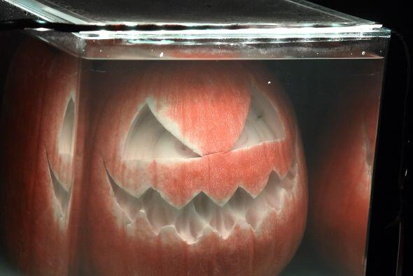 """La exhibición """"Rise of The Jack 'O Lanterns"""" cuenta con más de cinco mil..."""