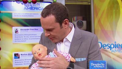Alan recibió lluvia de felicitaciones por el embarazo de su novia