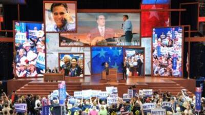La Convención Nacional Repuboicana 2012 en Tampa, Florida.