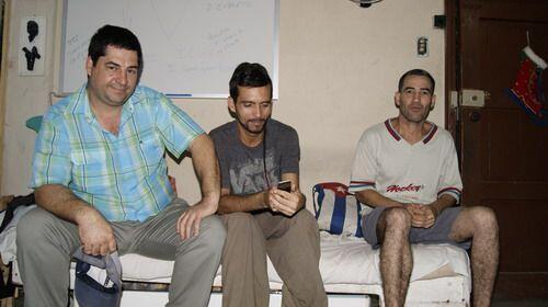 Se sumaron a la huelga de hambre David Águila,  Luis Manuel Fumer...