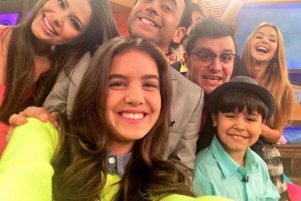 """""""#selfie del día @DespiertaAmeric con @AdalRamones @PAULSTANLEYD @AnaPat..."""