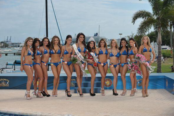 Una mirada a las doce bellas candidatas.