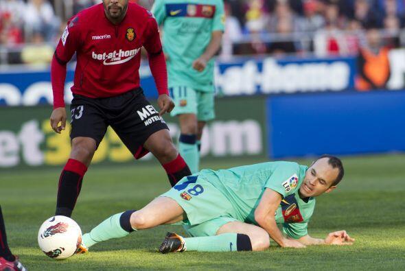Mallorca nunca mostró reacción y el Barcelona dominó sin problemas.