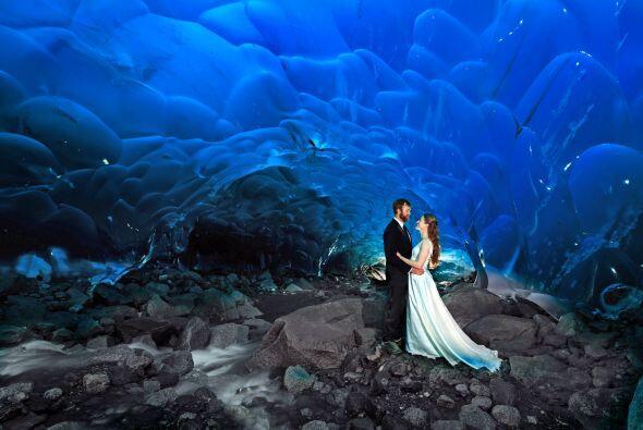 El hermoso paraíso que sirvió de fondo para su primeros pasos como marid...
