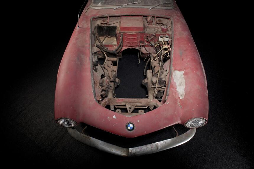 La restauración del BMW 507 1957 de Elvis P90157514_highRes_special-exhi...