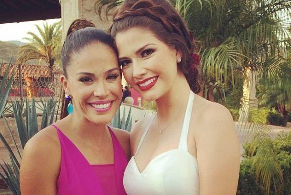 Primero compañeras, luego amigas y ahora cuñadas, Karla Martínez y Ana P...
