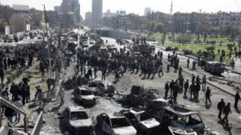 En el atentado murieron 6 personas, entre ellos uno de los acompañantes...