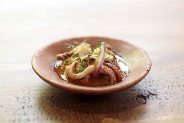El menú  ideado por el chef Castellanos para crear una experiencia de ma...