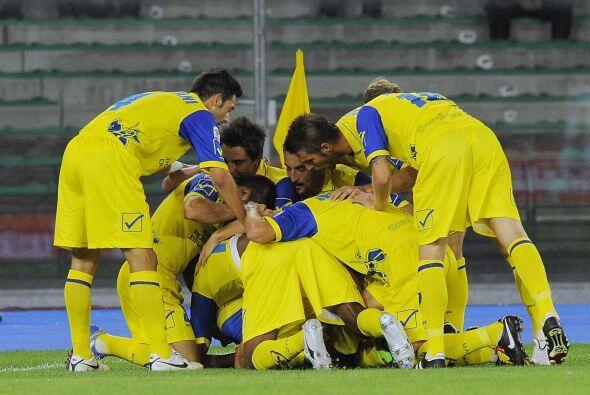 Vencieron al Catania con un apretado 2-1 gracias a los goles de Moscarde...