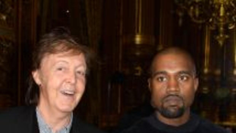Paul McCartney contó que para romper el hielo con el rapero, le contó có...