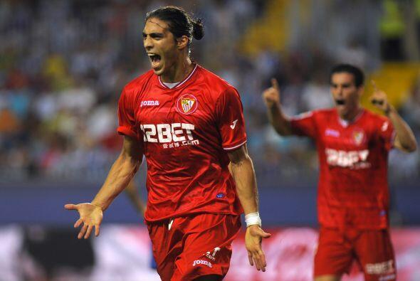 Y si no bastaba, marcó el tanto del triunfo para el Sevilla por 2-1.