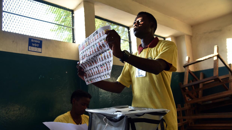 Haití eligió presidente, parlamentarios y autoridades locales.
