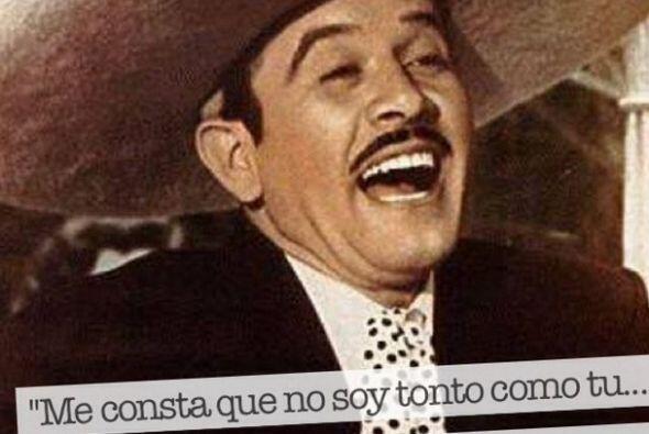 Pedro Infante es uno de los galanes de todos los tiempos, sus personajes...