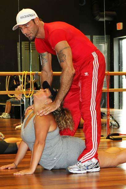 Es importante hacer bien los ejercicios para no lastimarse.