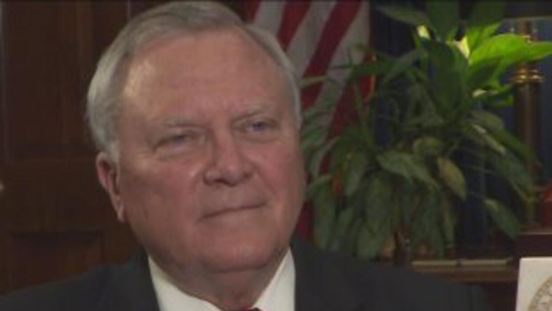 Nathan Deal gobernador de Georgia.