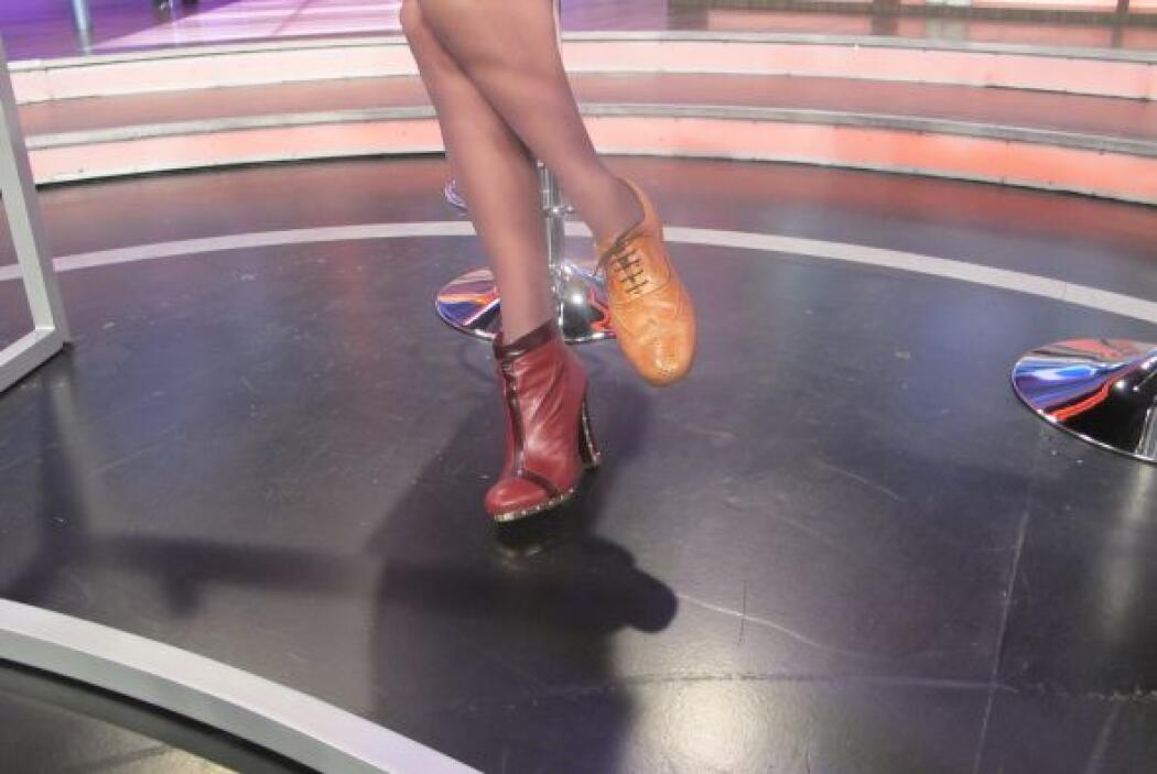 A la Flaca no le quedó otra que ponerse el zapato de Carlos.