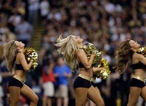 Mira lo que las cheerleaders de los New Orleans Saints te traerán para l...