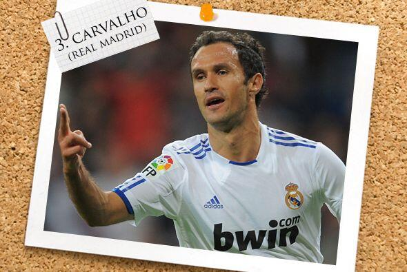 El portugués Ricardo Carvalho se estrenó como goleador de...
