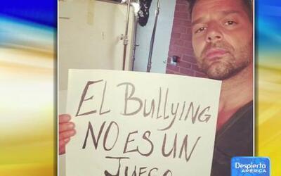 Ricky Martin se unió al llamado de 'No al Bullying'